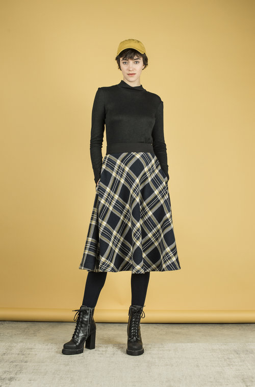 Bleeker - Plaid Skirt